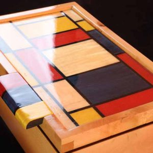 Brendan Gallagher Mondrian style box