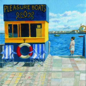 Jill Mirza Pleasure boats hut