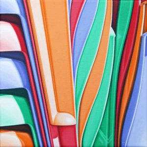 Nick Hais Stacked plastic chairs 2