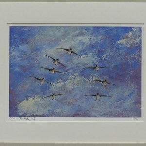 Phillip Goble 'Air brakes on!' Limited Edition Print