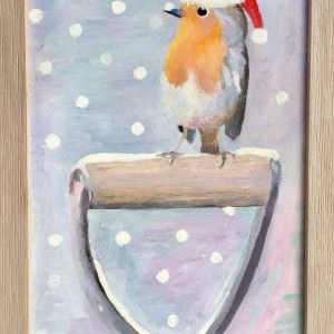 Samantha Woodford's 'Discover, - December Robin' artwork