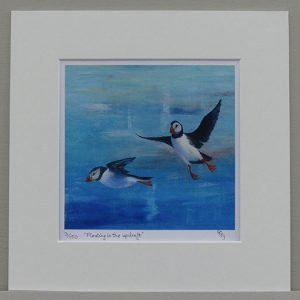 Phillip Goble 'Floating in up-draft' Limited Edition Print is available on the Art4Action auction in December