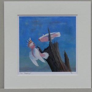 Phillip Goble 'Greetings!' (Pair of Cockatoos)' Limited Edition Print