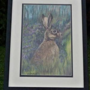 Jenny Frankland Hare and Bluebells