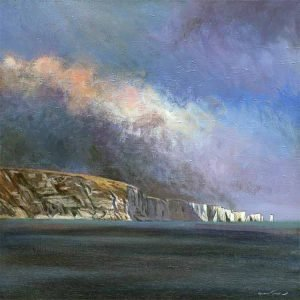 Graham Lindsay Towler Storm approaching Old Harry