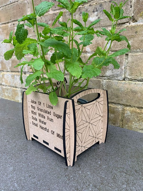 Barrowwood Individual personalised planter