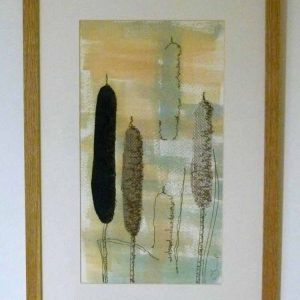 Bulrushes in the Misty Morn