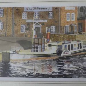 Monarch of the Frome is a Giclee print by Wareham artist David Cole.