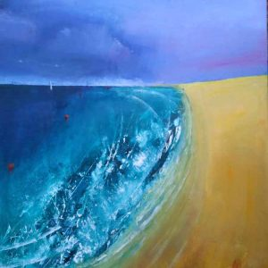 Shell Bay is an original painting by local artist Eddie Burrows