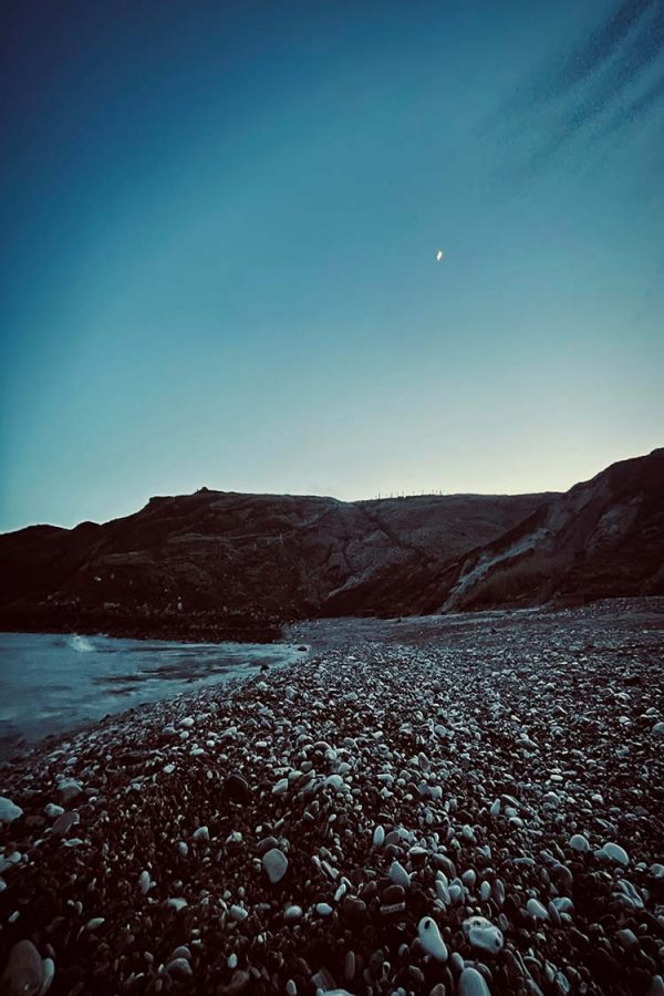 Lulworth Cove at Night by Fluidus Art Photography