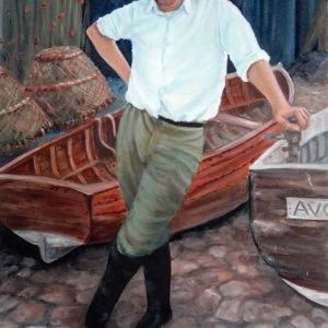 Roger Brown, Swanage Seaman by Marjan's Art