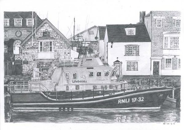 Weymouth's Lifeboat by Ian Hedley