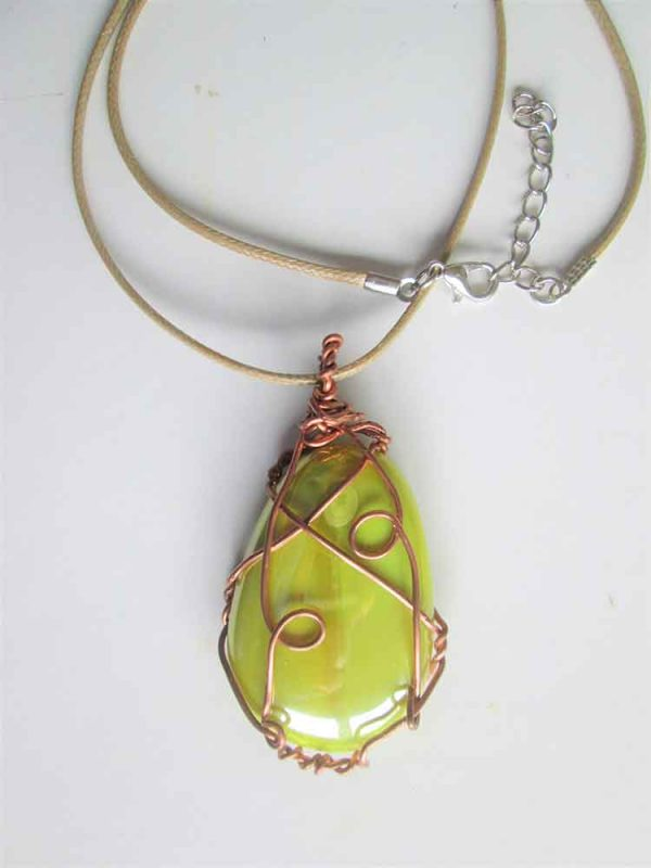 Glass Stone Pendent