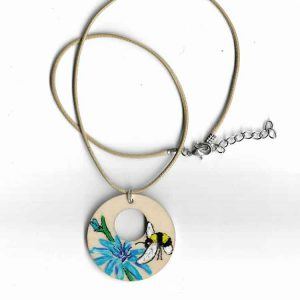 Cute Buzzy Bee Pendent