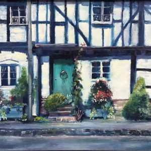Black and White is an original painting by Dorset artist Mark Pender.
