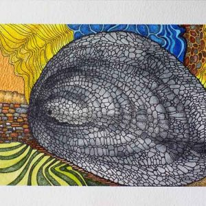 Centrifugal Force is an original artwork for sale by local Dorset artist Maryanne Pitman