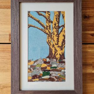 One Tree is an original textile by Laura Butt