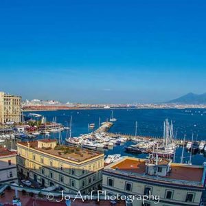Panorama of Naples is a photographic print by Jo Arif taken at Naples/Italy.