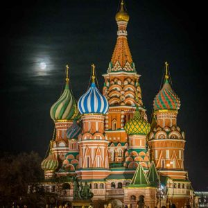 Russian full moon is a photographic print by Jo Arif taken in Moscow/Russia.