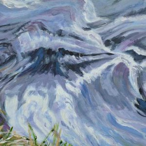 Exmoor River painting by Caroline Nairn. Buy it at Art4Action.